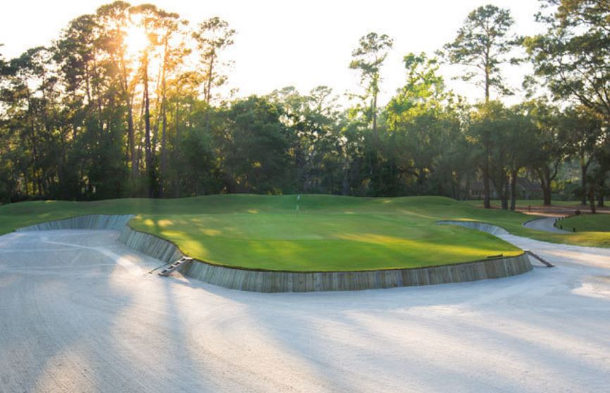 Golf Course Photo, Heron Point Golf Course, Sea Pines Resort, Hilton Head Island, 29928