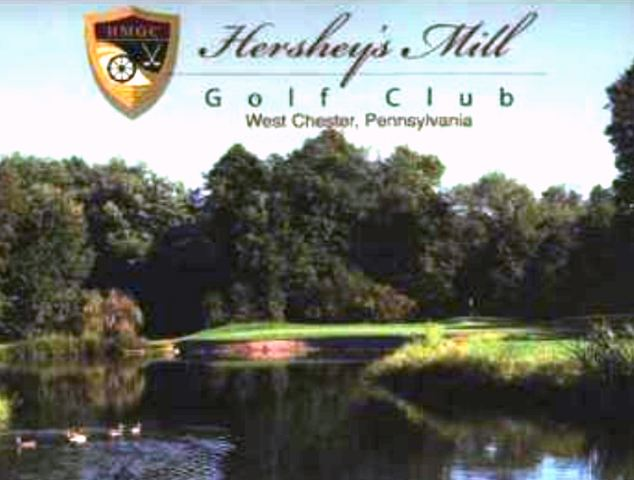 Golf Course Photo, Hersheys Mill Golf Club | Hersheys Mill Golf Course, West Chester, 19380