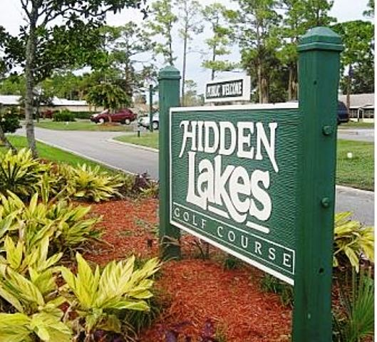 Hidden Lakes Golf Course,New Smyrna Beach, Florida,  - Golf Course Photo