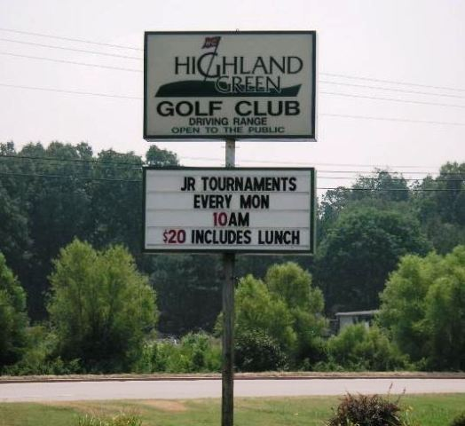 Highland Green Golf Club, CLOSED 2013,Jackson, Tennessee,  - Golf Course Photo