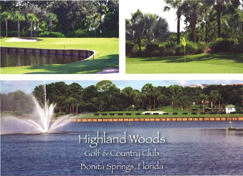 Golf Course Photo, Highland Woods Golf & Country Club, Bonita Springs, 34135
