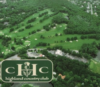 Golf Course Photo, Highland Country Club, CLOSED 2018, Attleboro, 02703