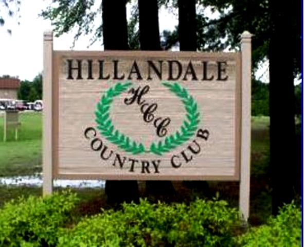 Golf Course Photo, Hillandale Country Club, Corinth, 38834