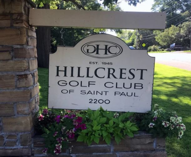Golf Course Photo, Hillcrest Country Club, CLOSED 2017, Saint Paul, Minnesota, 55109