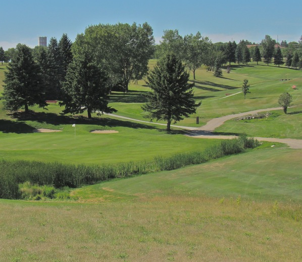 Golf Course Photo, Hillcrest Golf Course, Jamestown, North Dakota, 58401