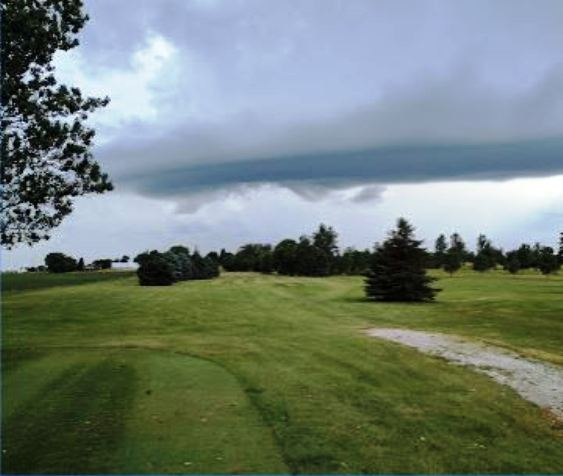 Golf Course Photo, Hillside Golf Club, Wesley, Iowa, 50483
