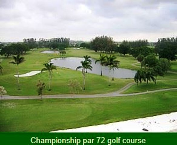 Golf Course Photo, Hollybrook Golf & Tennis Club, Championship Course, Pembroke Pines, Florida, 33025