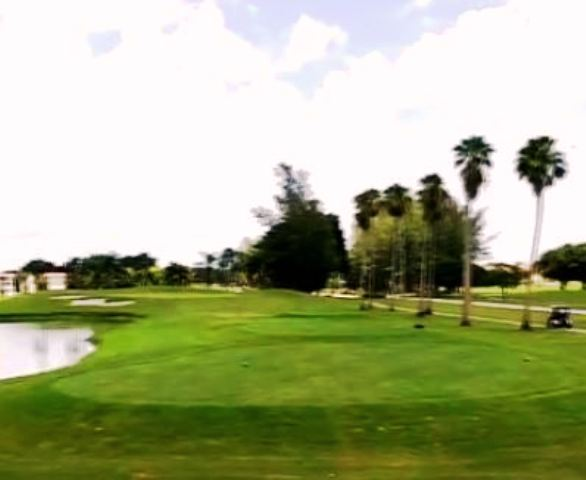 Golf Course Photo, Hollybrook Golf & Tennis Club, Par 3 Course, Pembroke Pines, Florida, 33025
