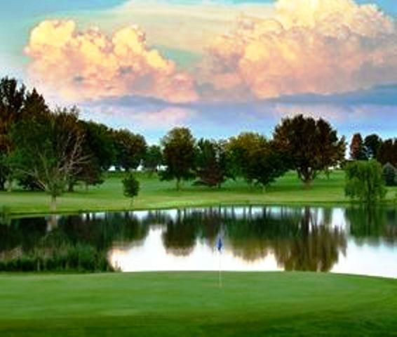 Golf Course Photo, Holstein Country Club, Holstein, Iowa, 51025