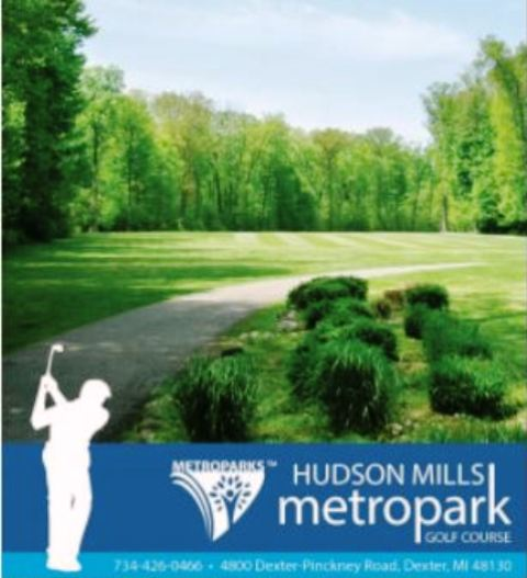 Golf Course Photo, Hudson Mills Metro Park Golf Course, Dexter, 48130