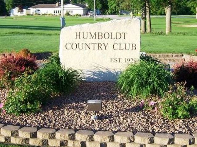 Golf Course Photo, Humboldt Country Club, Humboldt, Iowa, 50548