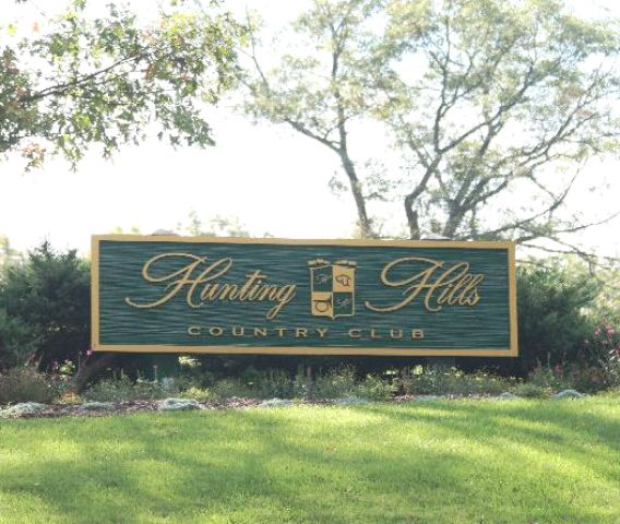 Golf Course Photo, Hunting Hills Country Club, Roanoke, 24014
