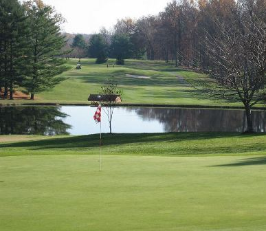 Golf Course Photo, Indian Spring Country Club, Chief Course, CLOSED 2006, Silver Spring, 20906