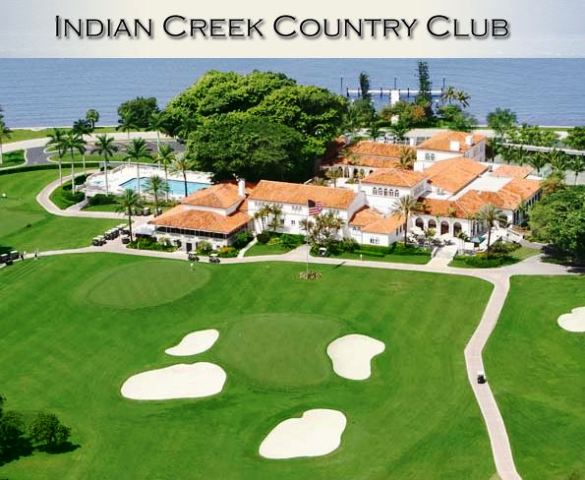 Golf Course Photo, Indian Creek Country Club, Miami Beach, Florida, 33154