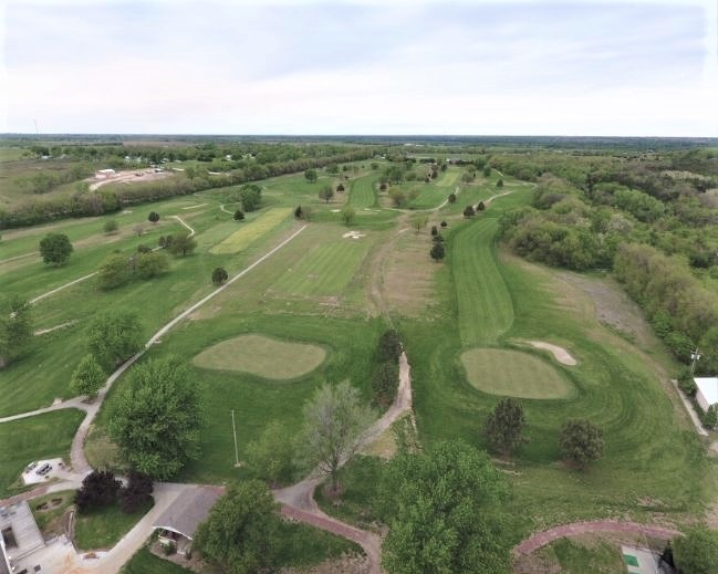 Golf Course Photo, Indian Hills Golf Course, Chapman, Kansas, 67431
