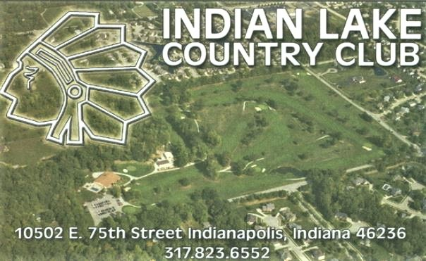 Golf Course Photo, Indian Lake Country Club, Indianapolis, Indiana, 46236