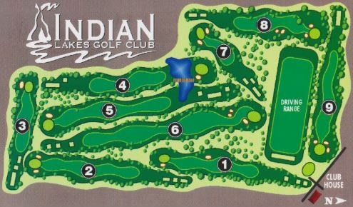 Indian Lakes Golf Club, Boise, Idaho,  - Golf Course Photo