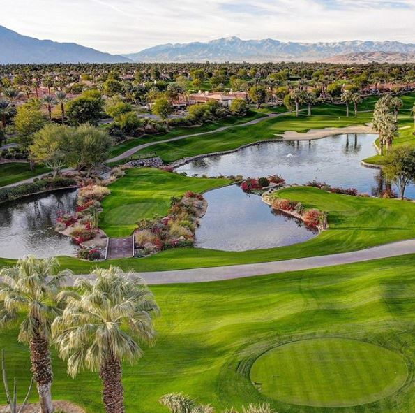 Golf Course Photo, Indian Ridge Country Club, Arroyo Course, Palm Desert, California, 92211