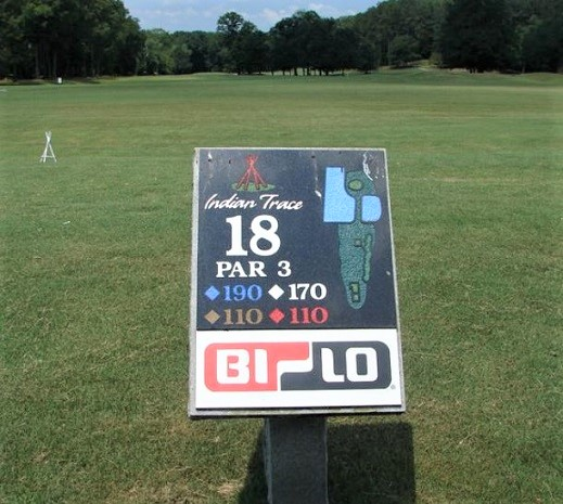 Indian Trace Golf Course, Chatsworth, Georgia,  - Golf Course Photo