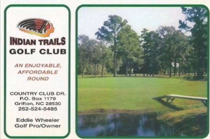 Golf Course Photo, Indian Trails Golf Club, CLOSED 2011, Grifton, 28530