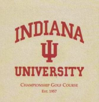 Golf Course Photo, Indiana University Golf Course, Executive Nine, Bloomington, 47405