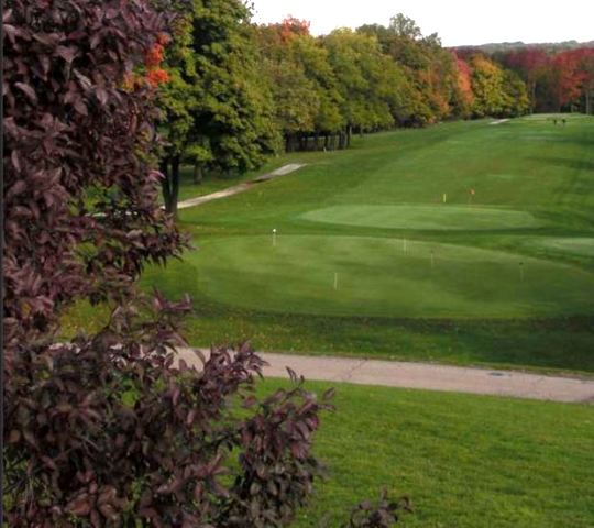 Golf Course Photo, Indiana University Golf Course, Championship Course, Bloomington, 47405