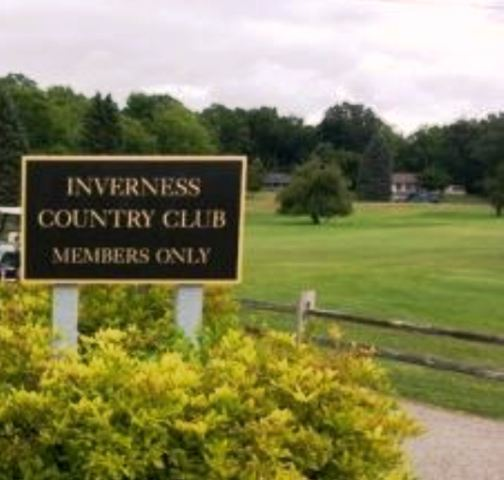 Golf Course Photo, Inverness Country Club, Chelsea, 48118