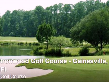 Golf Course Photo, Ironwood Golf Course, Gainesville, 32609