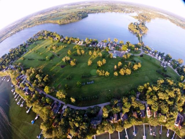 Iyopawa Island Golf Course, Coldwater, Michigan,  - Golf Course Photo