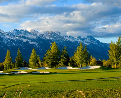 Jackson Hole Golf & Tennis Club, Jackson, Wyoming,  - Golf Course Photo
