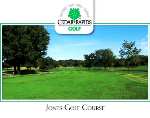Golf Course Photo, Jones Park Golf Course, Cedar Rapids, Iowa, 52404