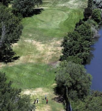 Golf Course Photo, Jordan River Par Three Golf Course, CLOSED 2014, Salt Lake City, 84116