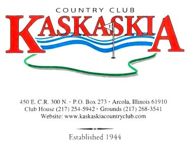 Kaskaskia Country Club,Arcola, Illinois,  - Golf Course Photo