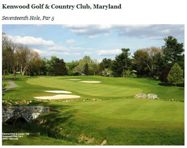 Kenwood Golf & Country Club, Bethesda, Maryland,  - Golf Course Photo