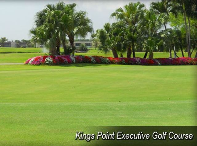 Kings Point Golf Course, Executive Course,Delray Beach, Florida,  - Golf Course Photo