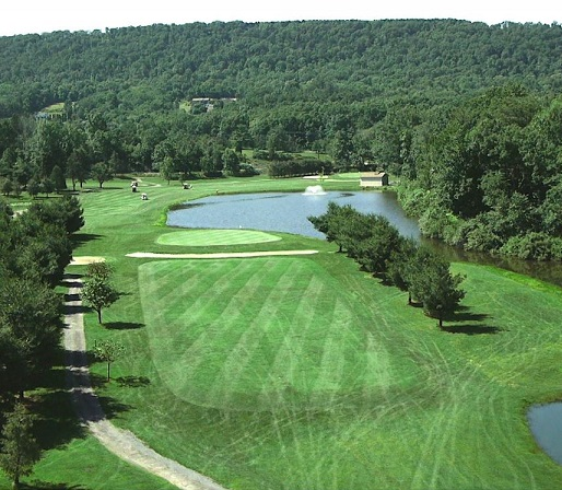 Golf Course Photo, Knobels Three Ponds Golf Club, Elysburg, Pennsylvania, 17824