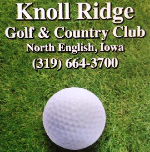 Golf Course Photo, Knoll Ridge Country Club, North English, Iowa, 52316