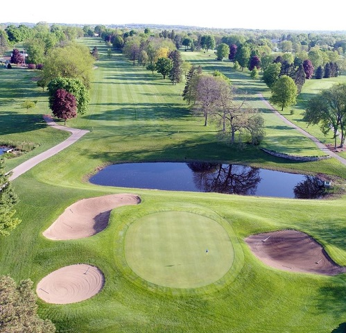 Krueger Haskell Golf Course, Beloit, Wisconsin,  - Golf Course Photo