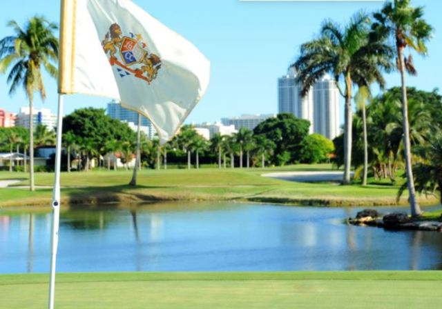 La Gorce Country Club, Miami Beach, Florida,  - Golf Course Photo