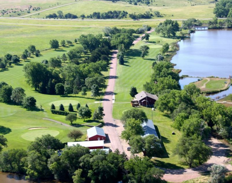 Lake Platte Golf Club, Platte, South Dakota,  - Golf Course Photo