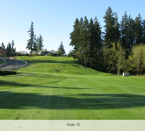 Lake Wilderness Golf Course, Maple Valley, Washington,  - Golf Course Photo