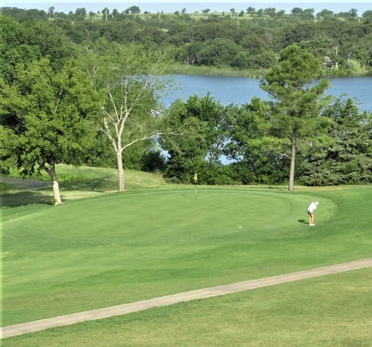 Golf Course Photo, Lakeview Golf Club, Ardmore, Oklahoma, 73401