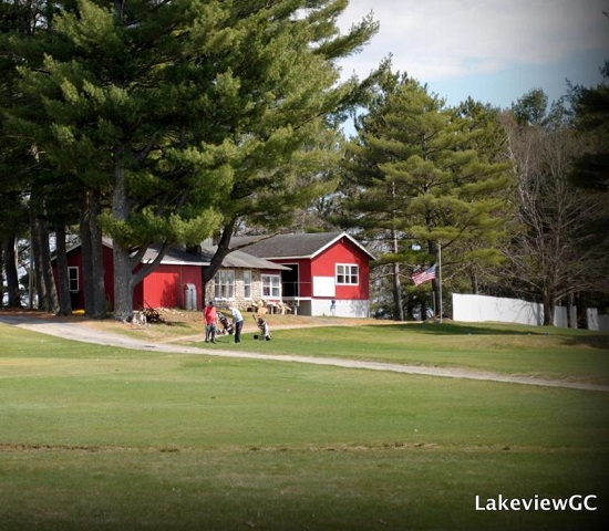 Golf Course Photo, Lakeview Golf Course, CLOSED 2016, Burnham, Maine, 04922