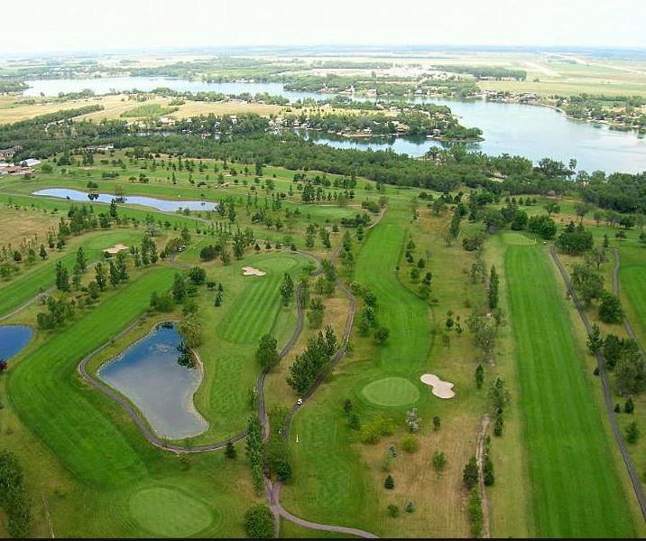 Golf Course Photo, Lakeview Golf Course, Mitchell, South Dakota, 57301