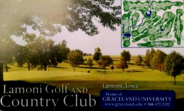Lamoni Golf & Country Club, Lamoni, Iowa,  - Golf Course Photo