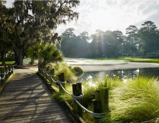 The Landings Club, The Magnolia Course,Savannah, Georgia,  - Golf Course Photo