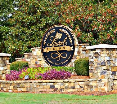 Golf Course Photo, Laurel Springs Golf Club, Suwanee, 30024