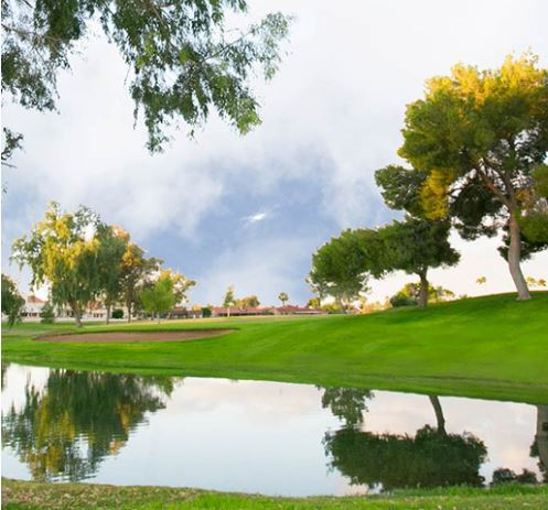 Golf Course Photo, Leisure World Country Club, Heron Lakes Golf Course, Mesa, 85206
