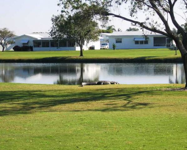 Leisureville Golf Course, Boynton Beach, Florida,  - Golf Course Photo