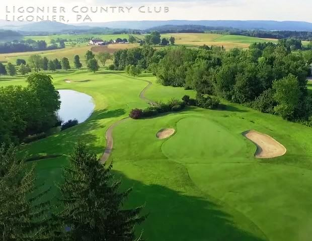 Ligonier Country Club,Ligonier, Pennsylvania,  - Golf Course Photo